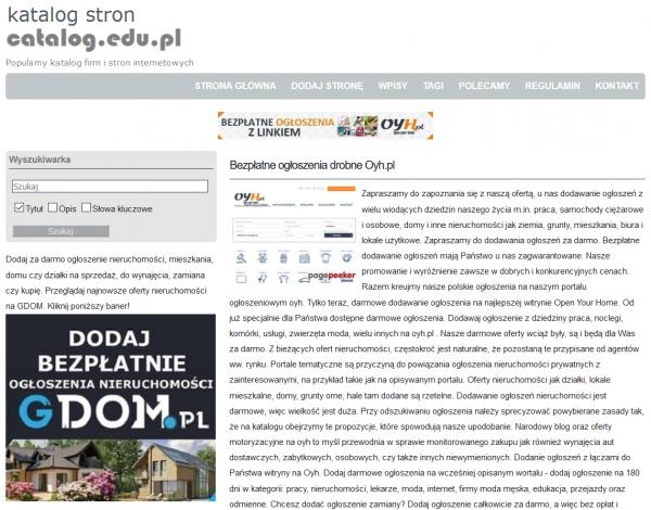 katalogi stron i firm catalog-edu-pl